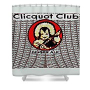 Clicquot Club Shower Curtain