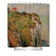 Cliff At Dieppe Shower Curtain