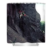 Cliff Dancers Shower Curtain