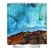 Cliff Diver Shower Curtain