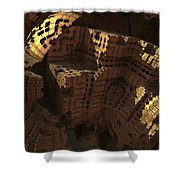 Cliff Dwellers Shower Curtain