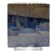 Cliff Dwellers Panoramic Shower Curtain