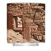 Cliff Dwelling Window Shower Curtain