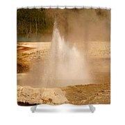 Cliff Geyser Shower Curtain