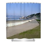Cliff House San Francisco Shower Curtain