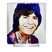 Cliff Richard, Music Legend Shower Curtain