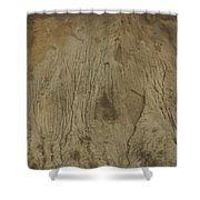 Cliff Trees Shower Curtain
