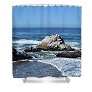 Cliffhouse Rocks Shower Curtain