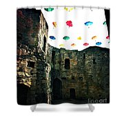 Clifford's Tower Shower Curtain