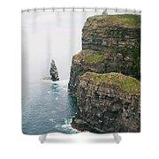 Cliffs Shower Curtain