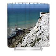 Cliffs At Beachy Head East Sussex Shower Curtain
