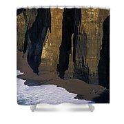 Cliffs At Blacklock Point Shower Curtain
