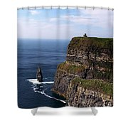 Cliffs Of Moher County Clare Ireland Shower Curtain