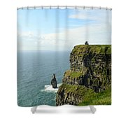 Cliffs Of Moher Shower Curtain
