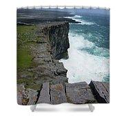 Cliffs Of The Aran Islands 5 Shower Curtain