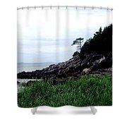 Cliffside II Shower Curtain