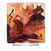 Cliffside Shower Curtain