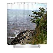 Cliffwalk Newport Shower Curtain