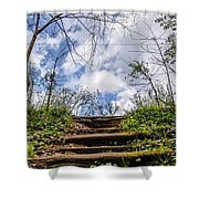 Climb To The Clouds Shower Curtain