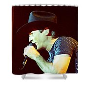 Clint Black-0840 Shower Curtain