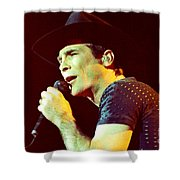 Clint Black-0842 Shower Curtain