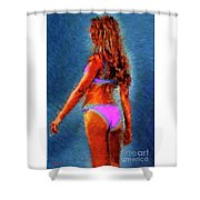 Clitorisandrea Shower Curtain