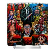 Clive Barker's Nightbreed Shower Curtain