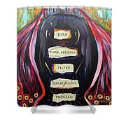 Cloak Of Reason Shower Curtain