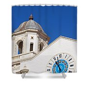 Clock And Tower Shower Curtain