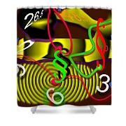 Clock Of Politics 2010 Shower Curtain