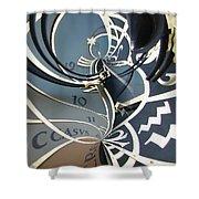 Clockface 14 Shower Curtain