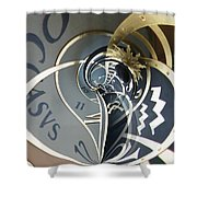 Clockface 4 Shower Curtain