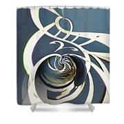 Clockface 7 Shower Curtain