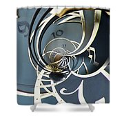 Clockface1  Shower Curtain