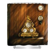 Clockmaker - Clocks Shower Curtain