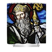 Clogheen, Ireland St. Patrick On Shower Curtain