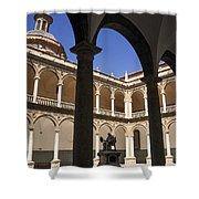 Cloister Real Colegio Seminario Del Corpus Christi Shower Curtain