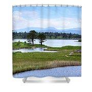 Cloonee Lough - Ireland Shower Curtain