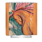 Close Contact Shower Curtain
