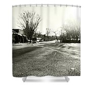 Close To Asphalt Shower Curtain