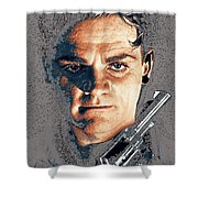 Close Up James Cagney As Gangster  Rocky Sullivan In Angels With Dirty Faces 1938-2008 Shower Curtain