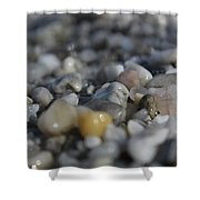 Close Up Of Rocks Shower Curtain