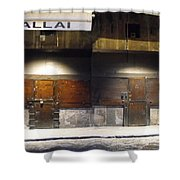 Closed Shop Stall Doors 2 Shower Curtain