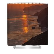 Closing Moment Shower Curtain