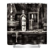 Closing Time Bodie Ghost Town Shower Curtain