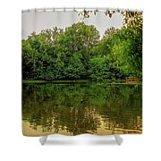Closter Nature Center Shower Curtain by Jody Lane
