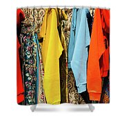 Clothes Rack Shower Curtain