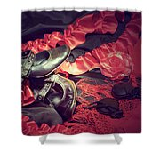 Clothing For Flamenco Shower Curtain