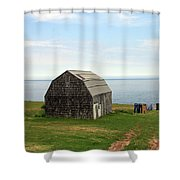 Clothline Shower Curtain