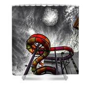 Cloud 9a Shower Curtain